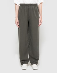 Christophe Lemaire Elasticated Long Pants Peat