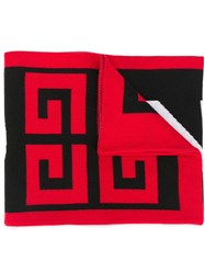 Givenchy Logo Scarf Black