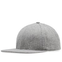 Save Khaki Wool Hopsack Cap Grey