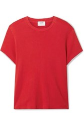 Re Done 70S Supima Cotton Jersey T Shirt Red