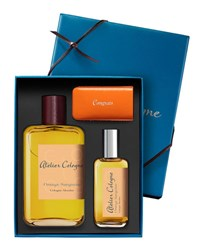 Atelier Cologne Orange Sanguine Cologne Absolue 200 Ml With Personalized Travel Spray 30 Ml Bordeaux