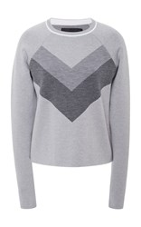 Lndr Flare Crew Neck Jumper Grey