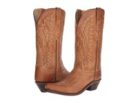 Old West Boots Lf1529 Tan Canyon Cowboy Brown