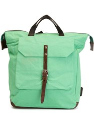 Ally Capellino 'Frances' Backpack Green