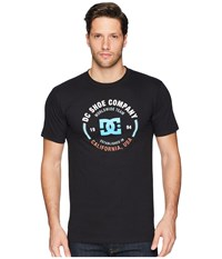 Dc Round About Short Sleeve Tee Black Short Sleeve Pullover