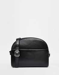 Monki Clean Black Across Body Bag