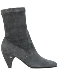 Laurence Dacade Venus Heeled Ankle Boots Grey