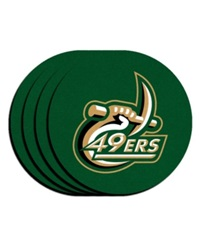 Memory Company Charlotte 49Ers 4 Pk. Coaster Set Team Color