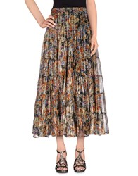Mes Demoiselles Skirts Long Skirts Women Dark Blue
