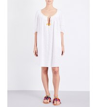 Thierry Colson Eva Cotton Voile Dress White