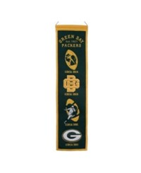 Winning Streak Green Bay Packers Heritage Banner Green Gold