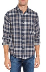 Faherty Men's Belmar Reversible Plaid Sport Shirt