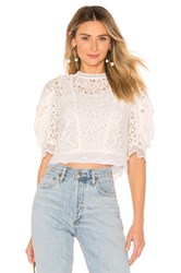 Milly Felicity Top White