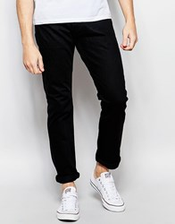 Denim And Supply Ralph Lauren Slim Fit Jean In Black Denim Blackslim