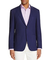 Canali Micro Check Classic Fit Travel Sport Coat 100 Bloomingdale's Exclusive Navy