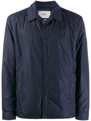Bally Lightweight Padded Jacket Blue