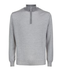 Peter Millar Half Zip Jumper Male Dove