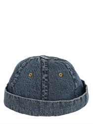 11 By Boris Bidjan Saberi Washed Cotton Denim Cap