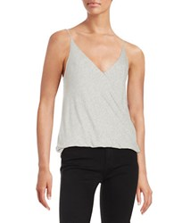 Project Social T Ribbed Suplice Tank Top Grey