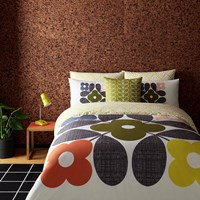 Orla Kiely Flower Tile Duvet Cover Multi