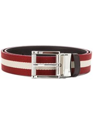 Bally Tamal Reversible Belt Red