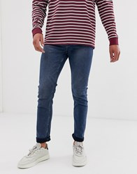 Only And Sons Slim Jeans In Midwash Blue