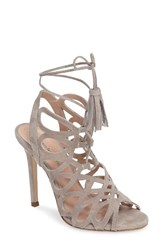 Charles By Charles David Women's Priscilla Cage Sandal Black Suede