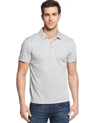 Alfani Men's Ethan Performance Polo Only At Macy's Silver