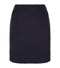 Claudie Pierlot Sidonie Boucle Knit Skirt Female Blue