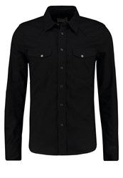 Nudie Jeans Jonis Shirt Black Black Denim