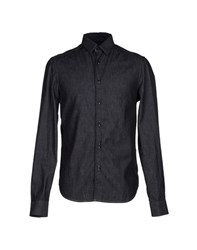 Trussardi Denim Denim Shirts Men