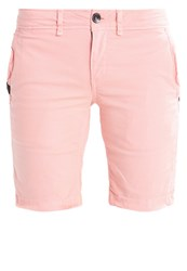 Superdry Denim Shorts Pink Coral
