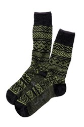 Smartwool Backcountry Cabin Crew Socks Green