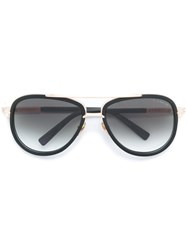 Dita Eyewear Gold Trim Sunglasses Black