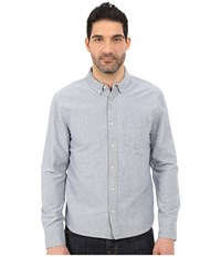Joe's Jeans Oxford Woven Shirt Oxford Blue Men's Clothing