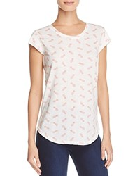 Soft Joie Dillon Pineapple Tee 100 Exclusive Porcelain Rose Tan