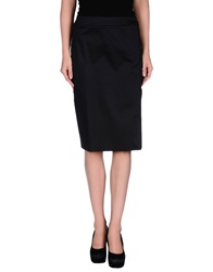 Fay Knee Length Skirts Dark Blue