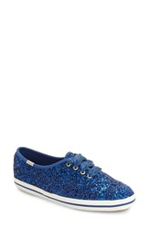 Kedsr For Kate Spade New York Women's Keds Glitter Sneaker Keds Blue