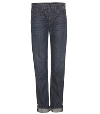 Helmut Lang Straight Jeans Blue