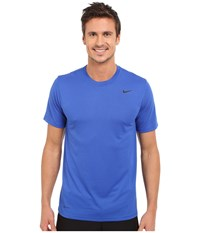 Nike Legend 2.0 Short Sleeve Tee Game Royal Black Black Men's T Shirt Blue