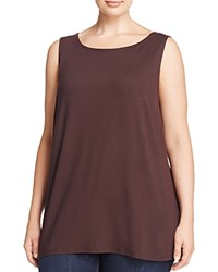 Eileen Fisher Plus Boat Neck Tank Clove