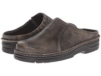 Naot Footwear Bjorn Vintage Gray Leather Men's Slip On Shoes