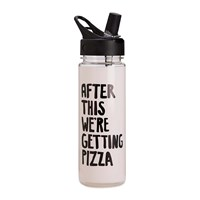 Ban.Do Ban. Do Work It Out Water Bottle After This We're Getting Pizza