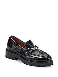 Rag And Bone Albor Leather Penny Loafers Black