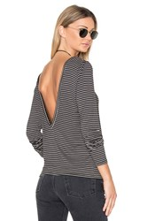 Project Social T Nightcap Low Back Top Black