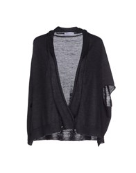 Gran Sasso Knitwear Wrap Cardigans Women Steel Grey
