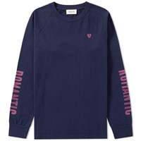 Wood Wood Long Sleeve Han Tee Blue