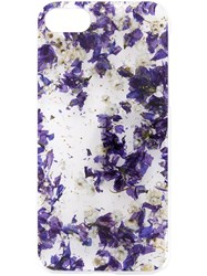 Anrealage Flowers Iphone 7 Case Blue