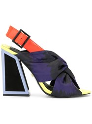 Kat Maconie Kailani Colour Block Sandals Multicolour