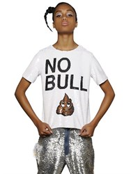 Ashish No Bull Sequined Cotton Top
